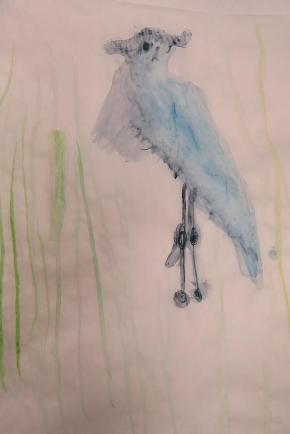 Kath's Canon, September 23, 2015 Heron Art Grade 4 Poundmaker 052