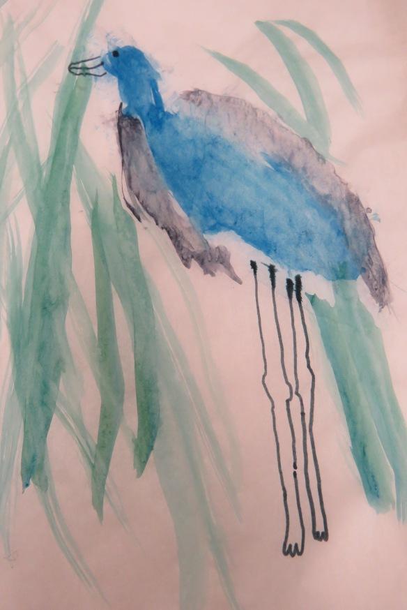 Kath's Canon, September 23, 2015 Heron Art Grade 4 Poundmaker 053