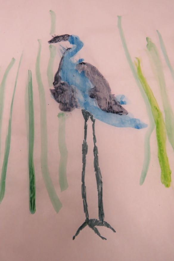 Kath's Canon, September 23, 2015 Heron Art Grade 4 Poundmaker 055