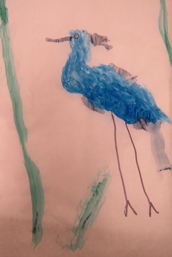 Kath's Canon, September 23, 2015 Heron Art Grade 4 Poundmaker 056