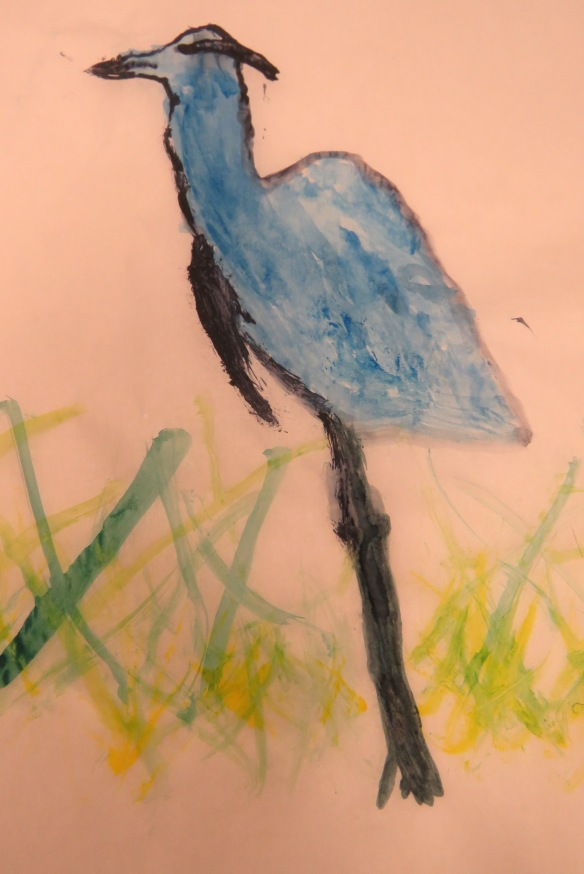 Kath's Canon, September 23, 2015 Heron Art Grade 4 Poundmaker 057