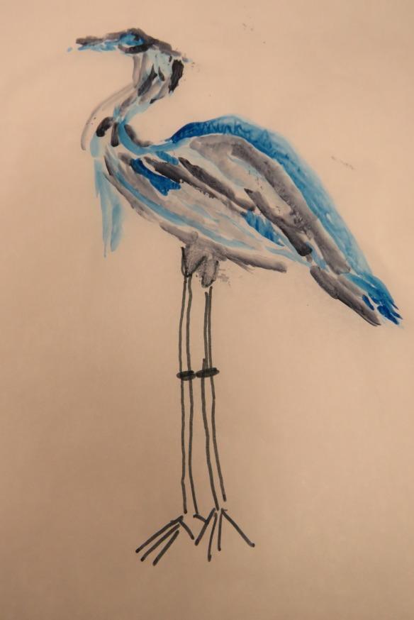 Kath's Canon, September 23, 2015 Heron Art Grade 4 Poundmaker 058