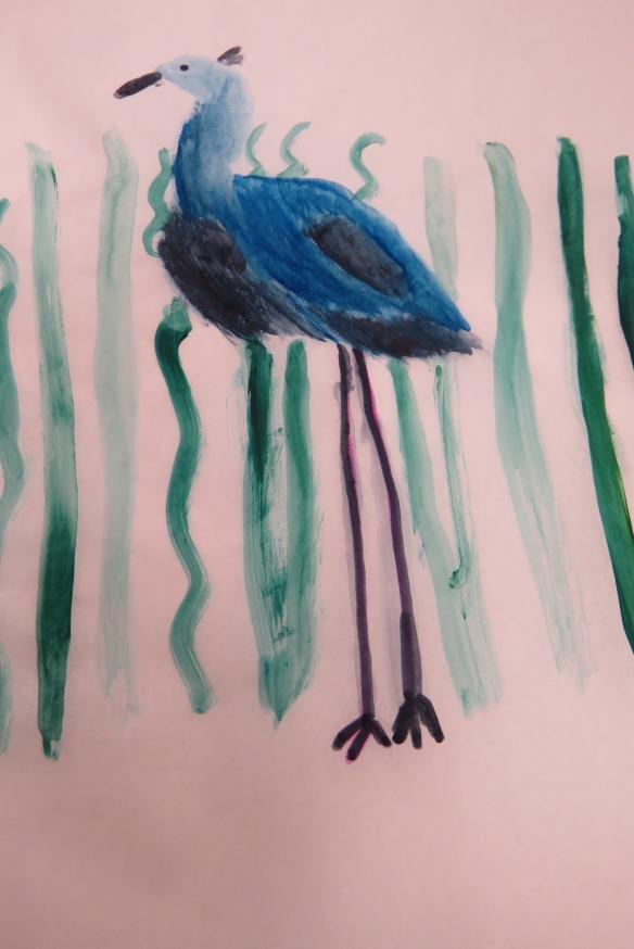 Kath's Canon, September 23, 2015 Heron Art Grade 4 Poundmaker 059