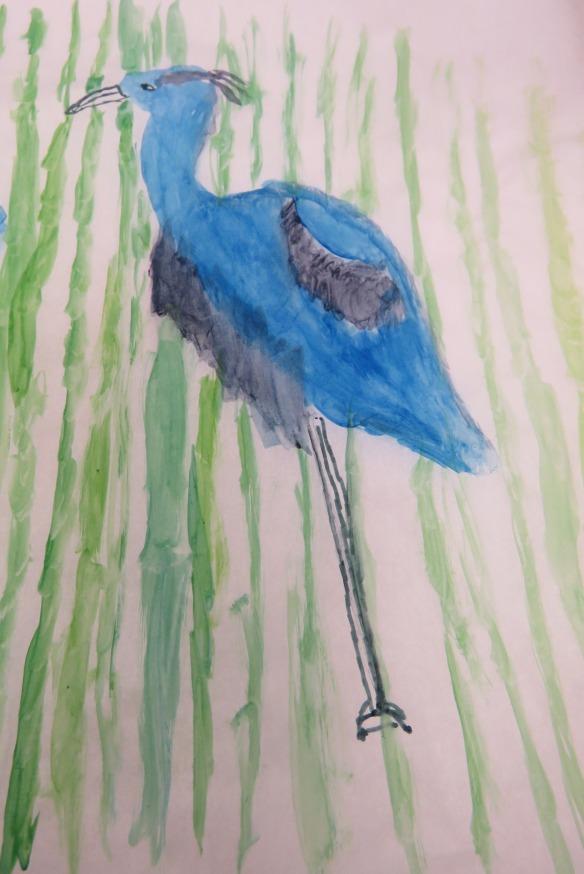 Kath's Canon, September 23, 2015 Heron Art Grade 4 Poundmaker 061