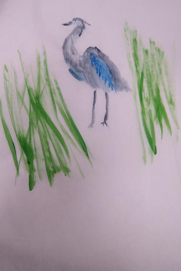 Kath's Canon, September 23, 2015 Heron Art Grade 4 Poundmaker 063