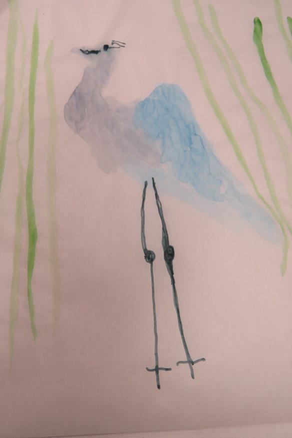 Kath's Canon, September 23, 2015 Heron Art Grade 4 Poundmaker 064