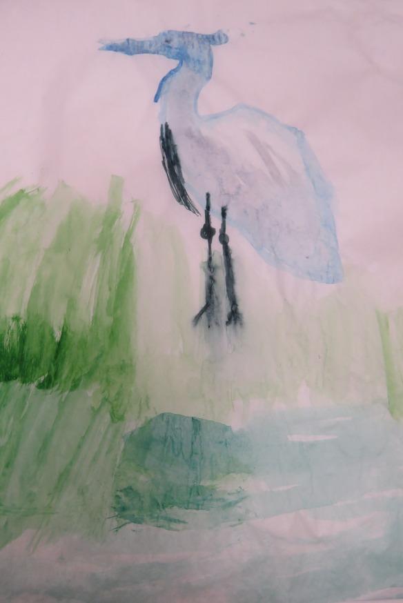 Kath's Canon, September 23, 2015 Heron Art Grade 4 Poundmaker 069