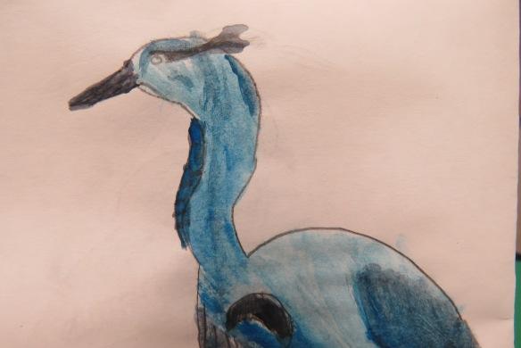 Kath's Canon, September 23, 2015 Heron Art Grade 4 Poundmaker 072