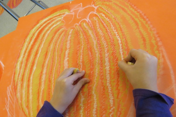 Kath's Canon, October 14, 2015 Grade three pumpkins 017