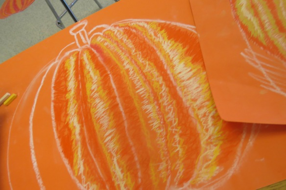 Kath's Canon, October 14, 2015 Grade three pumpkins 018