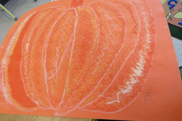 Kath's Canon, October 14, 2015 Grade three pumpkins 022
