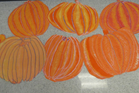 Kath's Canon, October 14, 2015 Grade three pumpkins 026