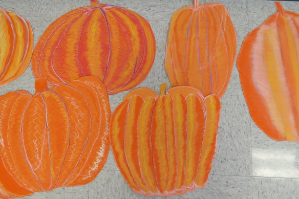 Kath's Canon, October 14, 2015 Grade three pumpkins 027