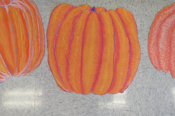 Kath's Canon, October 14, 2015 Grade three pumpkins 028