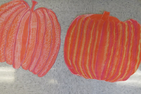 Kath's Canon, October 14, 2015 Grade three pumpkins 029