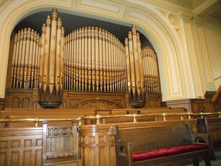 Zion United Church Moose Jaw organ constructed in 1907