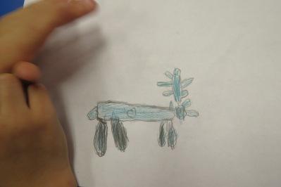 Kath's Canon, December 8, 2015 Caribou Art Grade 2 011
