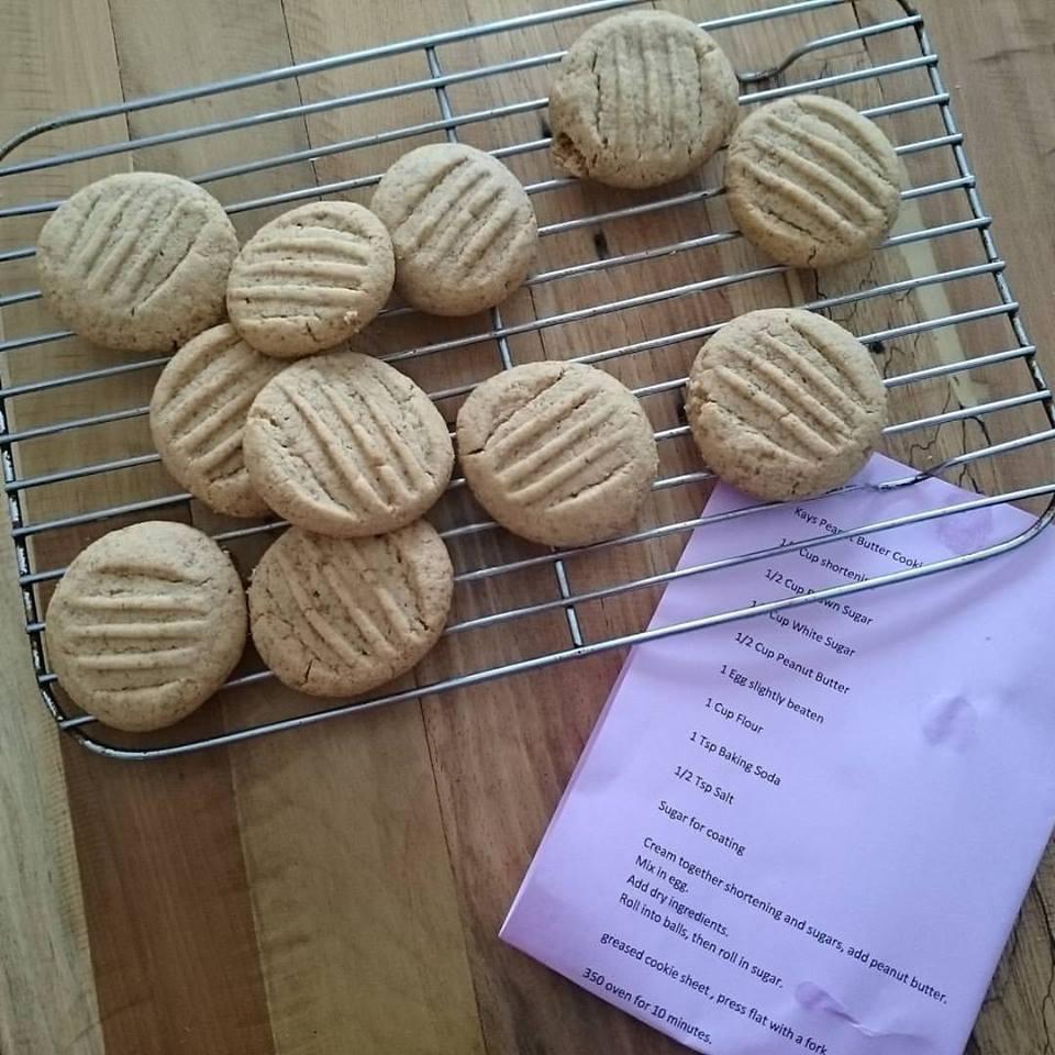 Peanut Butter Cookies Kath