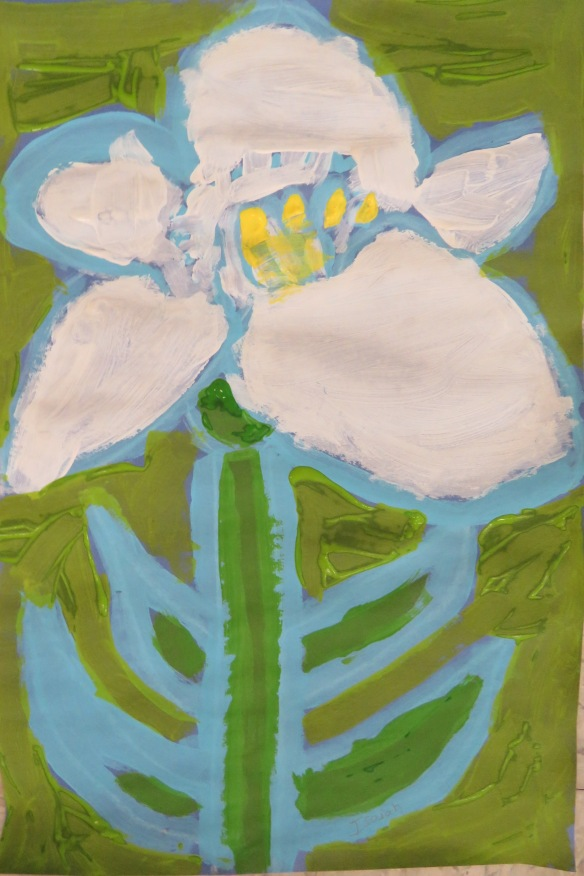 Kath's Canon March 10, 2016 Lilies Grade 3 Isabella 034