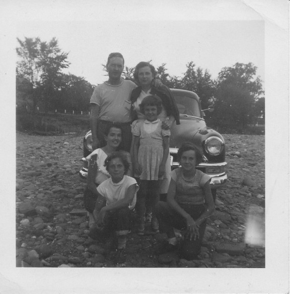 Mom and Dad's special family in Sherbrooke, Quebec