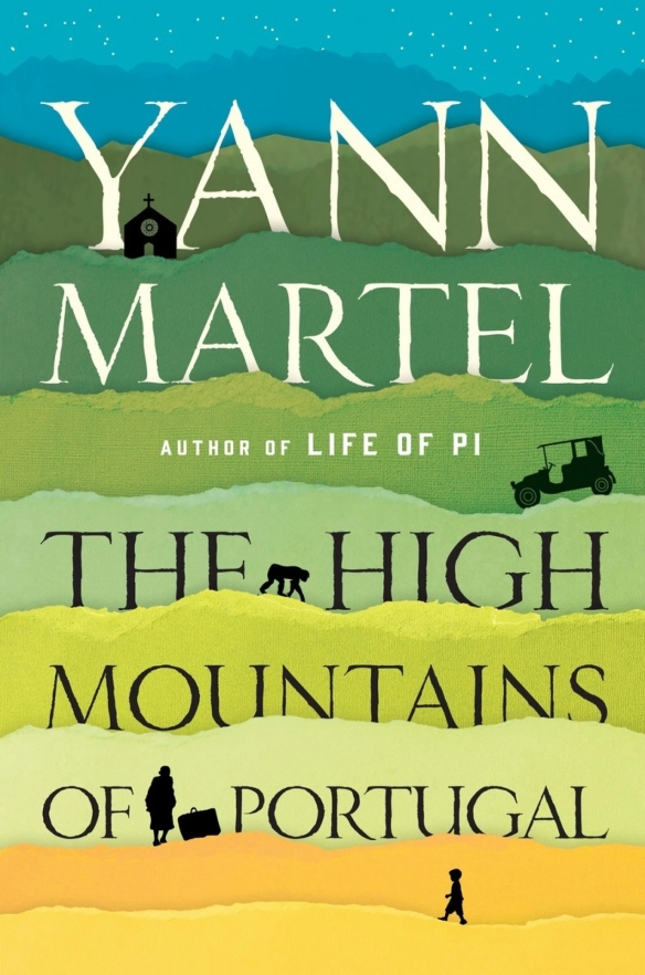 THE HIGH MOUNTAINS OF PORTUGAL -- cover