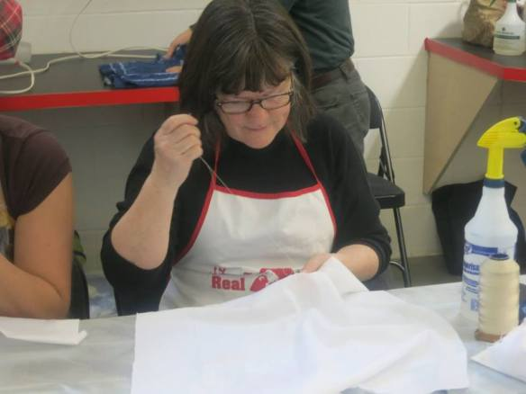 Kath Stitching Esker Shibori 2