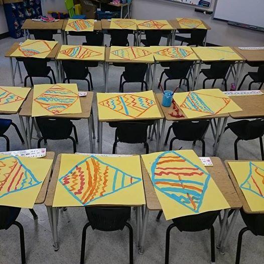 Painting Kites