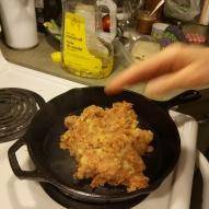 Chorizo and potato