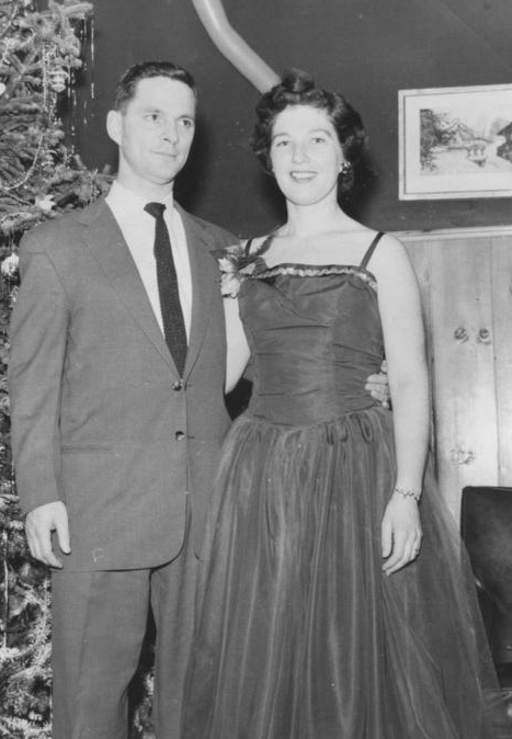 1957 Mom and Dad New Years