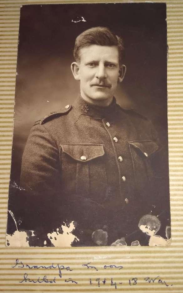 John Moors Great Grandfather