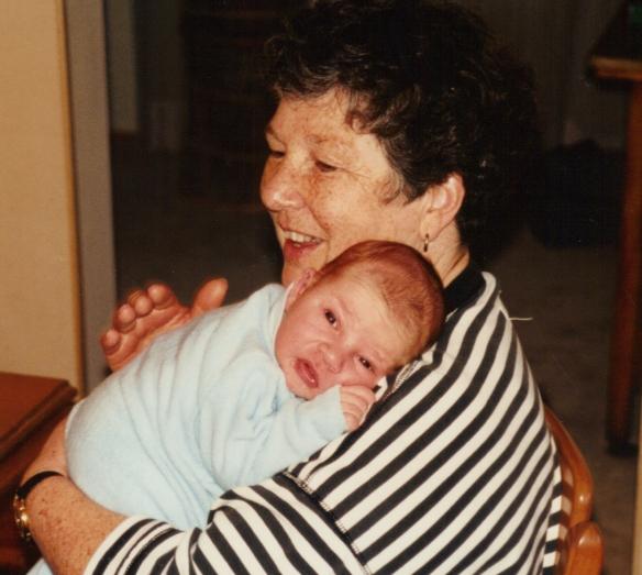 Mom and James 1990 5