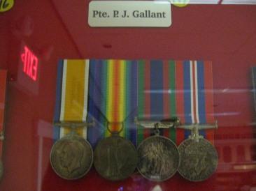 pte-p-j-gallant-medals-summerside-museum
