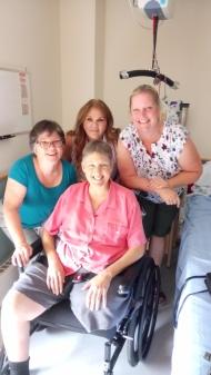 Wendy, Kath, Dar and Carla